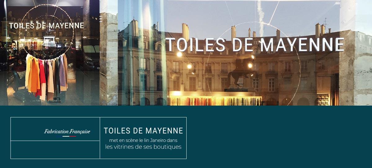 Toiles de Mayenne - Voeux de Noël