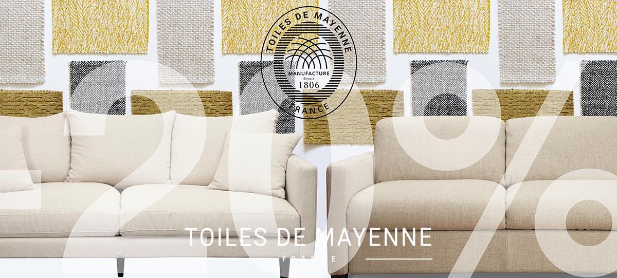 Toiles de Mayenne - Opération Canapés -  bas de page - image