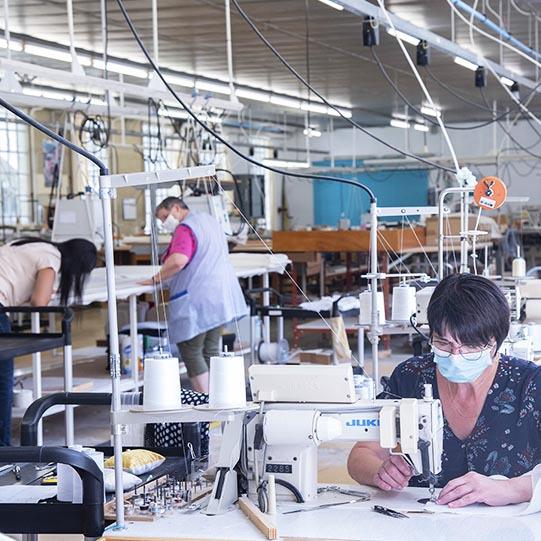 Vente Annuelle - Visite de nos ateliers - Toiles de Mayenne