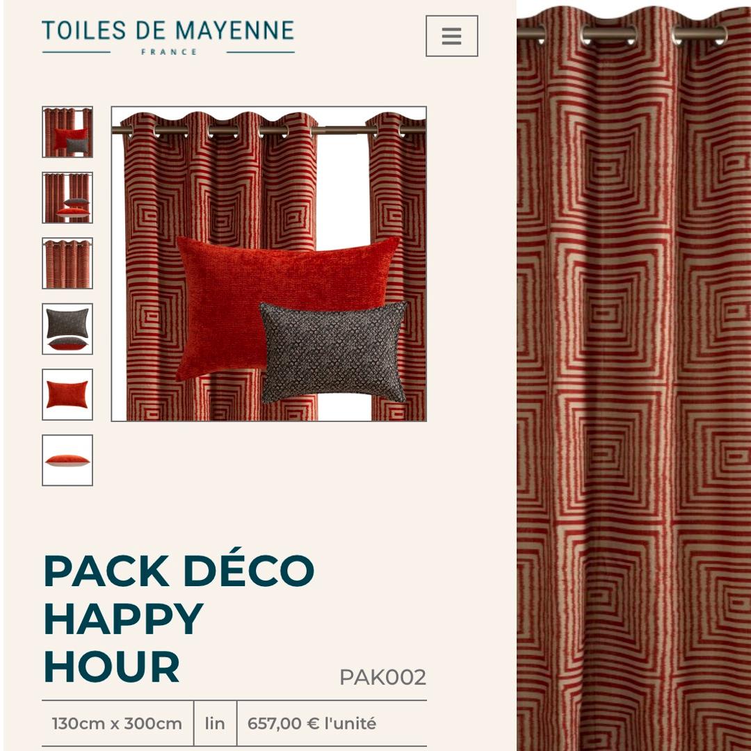 Rester encore un peu à la maison - Toiles de Mayenne - La lettre de la Manufacture